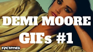 Best GIFs Demi Moore GIFs 1 Celebrity Compilation with Instrumental Music