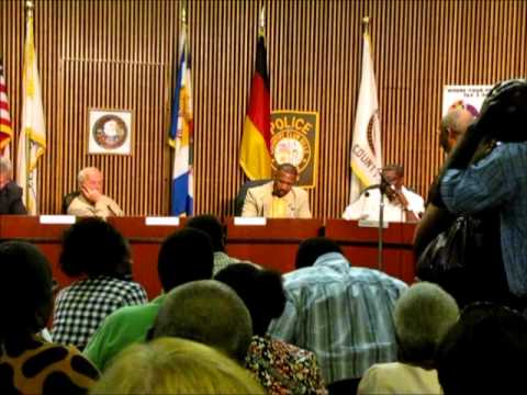 Public Comment After Mayor Dwight Welch Loses City Credit Card