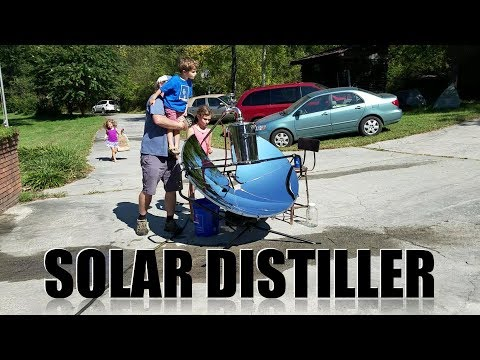 Solar Powered Distiller