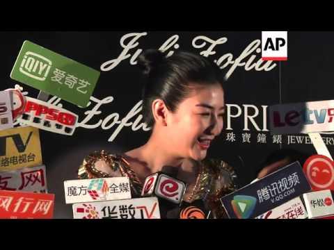 Li Ya Peng makes first public appearance in Hong Kong after split from Faye Wong.