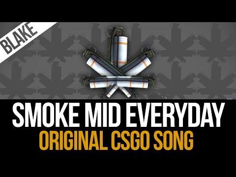 I am not a Reggae artist but it had to be done: Smoke Mid Everyday, the song!