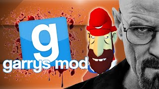 GMod Scary Map/Sandbox! - Breaking Bad, Pablo RETURNS, Morio! (Garrys Mod Funny Moments)