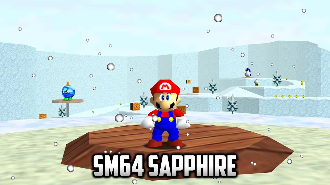 ⭐ Super Mario 64 PC Port - Romhack port - SM64 Sapphire - Part 2 - 4K 60FPS