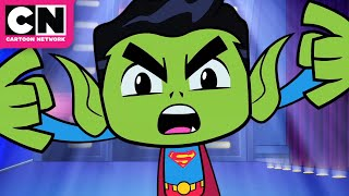 Beast Boy and Cyborg Dance Battle | Teen Titans Go! I Cartoon Network