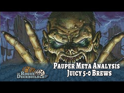 Pauper Meta Analysis: 5-0 finishes with Spicy Brews (Zombies, Rebels, Red Heroic)