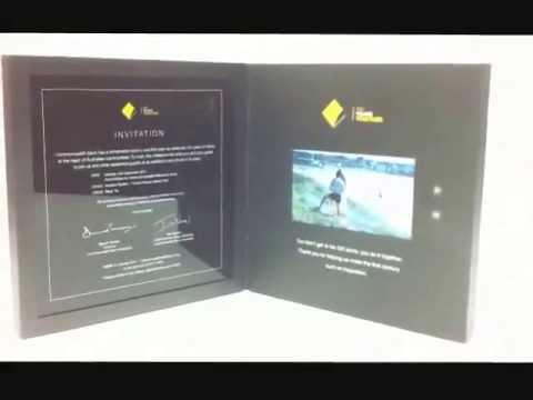 Commonwealth Bank of Australia - 100 years, video invitation