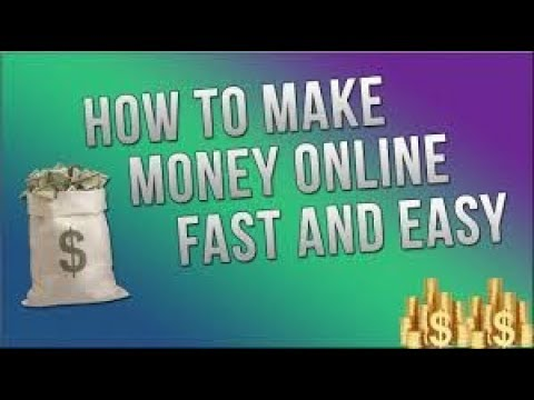 7 Legit Ways To Make Money Online - How To Make Money Online Fast And Easy !