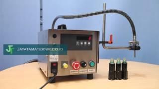 Mesin Filling / Pengisi Produk Cair Dalam Botol, Stand Pouch dan Kemasan Lain