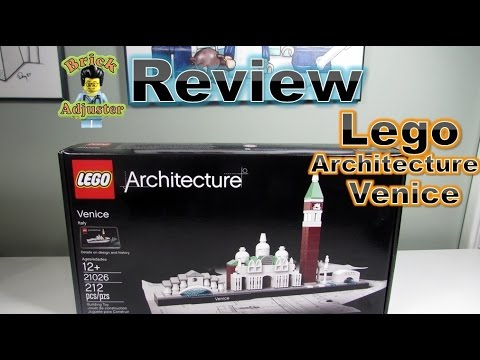 Playing with Lego #189 - Venice - Lego Architecture (Review) - LEGO 21026