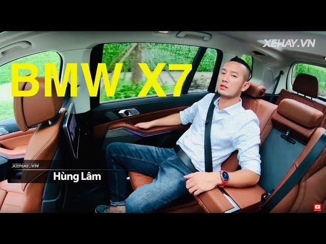 BMW X7 chính hãng giá 7,5 tỷ nó như thế này này | XE HAY