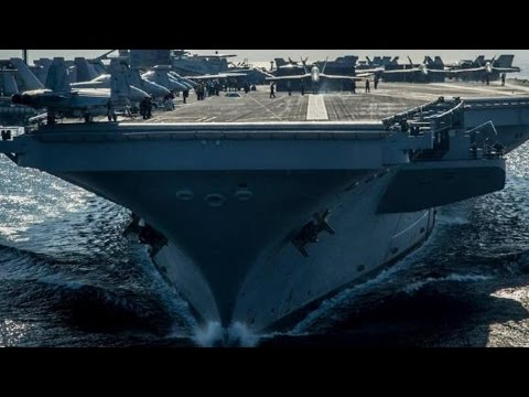 USS Carl Vinson (CVN 70) CARRIER STRIKE GROUP in a MASSIVE SHOW OF FORCE!