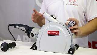 видео Штроборез Интерскол ПД-230/2600Э