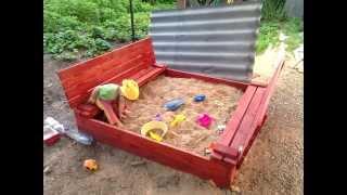 Детская песочница своими руками - Building a sandbox for the kids(Песочница для моего дитёнка :), 2015-07-31T13:07:18.000Z)