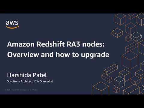 Amazon Redshift RA3 Nodes: Overview and How to Upgrade