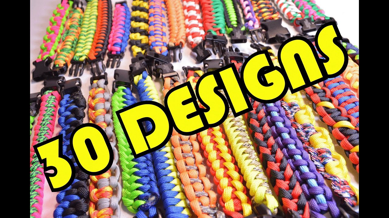 Paracord Braiding Patterns Interesting Inspiration Design