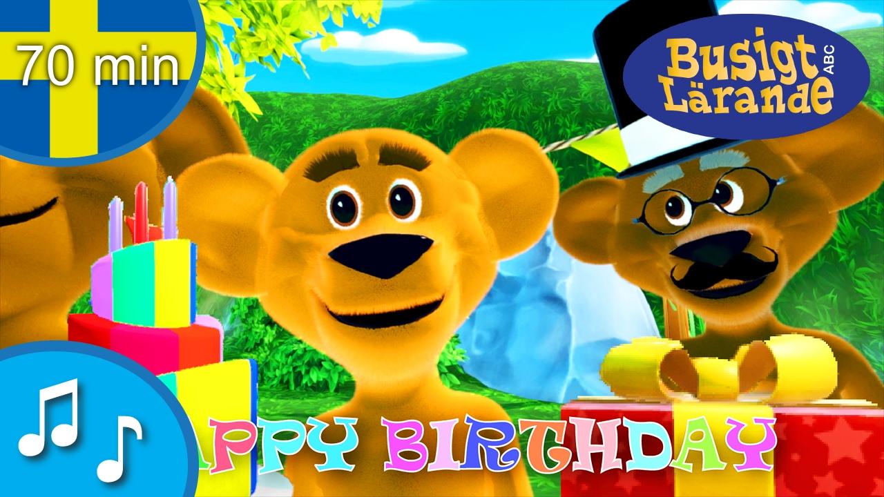 grattis på födelsedagen till barn Grattis på födelsedagen! Happy birthday! Födelsedagssång för barn  grattis på födelsedagen till barn