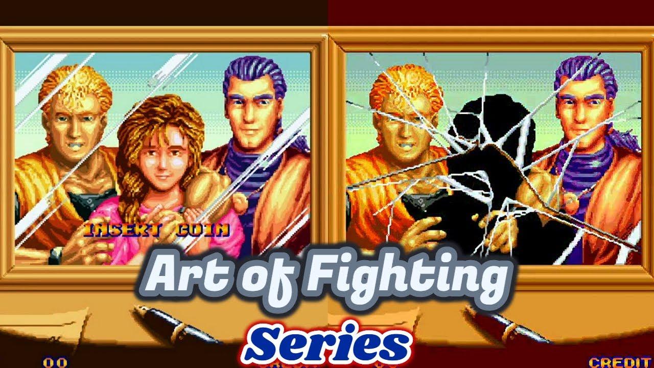 Arcade Intro Art Of Fighting Series Youtube