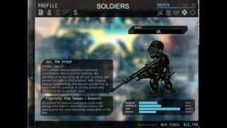 strike force heroes 2(personajes secretos)