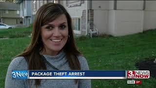 Police arrest thief caught on camera stealing packages from porches
