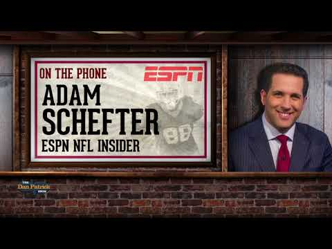 Adam Schefter Talks Kaepernick, NFL Draft & more w Dan Patrick | Full Interview | 4/13/18