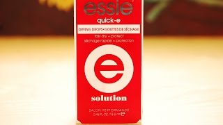 Essie Quick-E Drying Drops First Impression/Review | Nails
