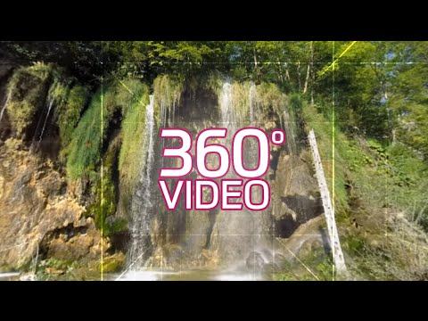 360: Plitvice Lakes Waterfall