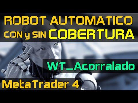 Robot Forex con Cobertura - MetaTrader 4 - WT_Acorralado