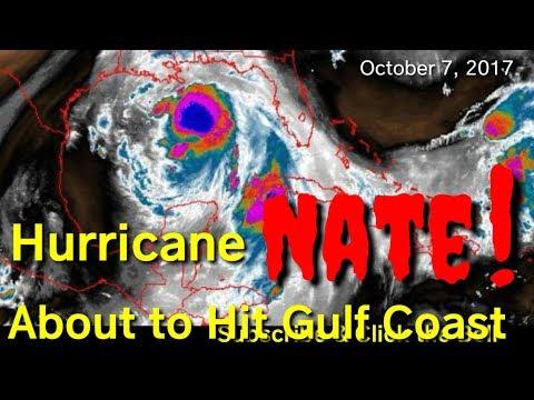 Hurricane Nate, Mobile Alabama NOAA weather radio, warnings & wathches, tornadoes, flash floods