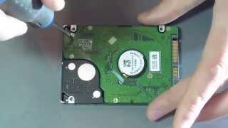Жөндеу HDD (қатты диск) - тазалау байланыс алаңдар.