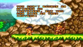 Prehistorik Man Game Sample - SNES/SFC