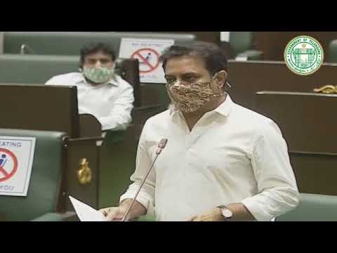 Minister KTR replied to a question on Urban Parks in Legislative Assembly