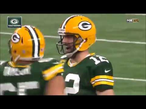 Aaron Rodgers Free Plays Compilation Part 1