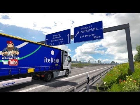 [ETS2] RMP: Heilbronn [GER] 1:1 Map v1.1
