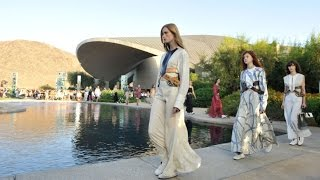 Louis Vuitton Cruise 2016 Fashion Show in Palm Springs