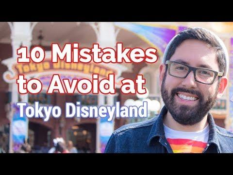 10 Mistakes to Avoid at Tokyo Disneyland