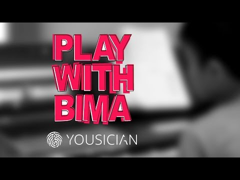 Keyboard Piano Practice with Yousician