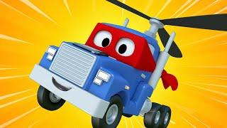 Carl der Super Truck - Der Drohnen-Lastwagen - Autopolis 🚒 Lastwagen Zeichentrickfilme für Kinder