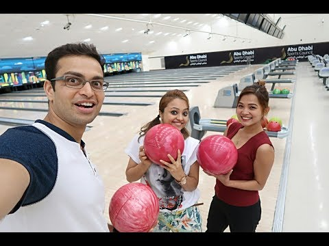 Bowling with World Champions in Abu Dhabi
