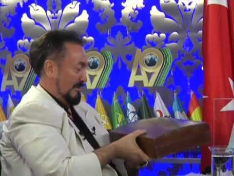 His Highness Sheikh Nazim Qubrusis amazing precious gifts to Mr. Adnan Oktar - 18 March