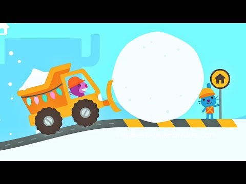 Sago Mini Trucks &  Diggers ❄️ Winter / Christmas Edition ❄️ Free App For Kids
