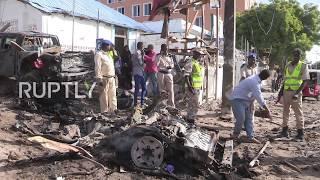 Somalia: Car bomb targeting police station kills seven in Mogadishu *GRAPHIC*