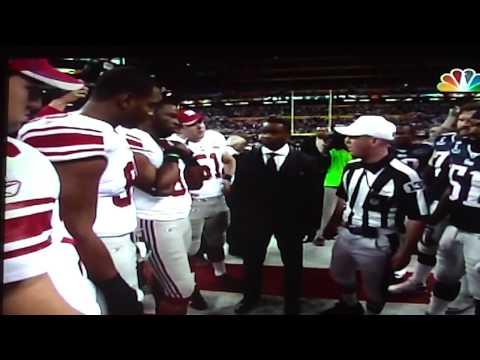 Super Bowl XLVI coin toss OFFICIAL video [HD]