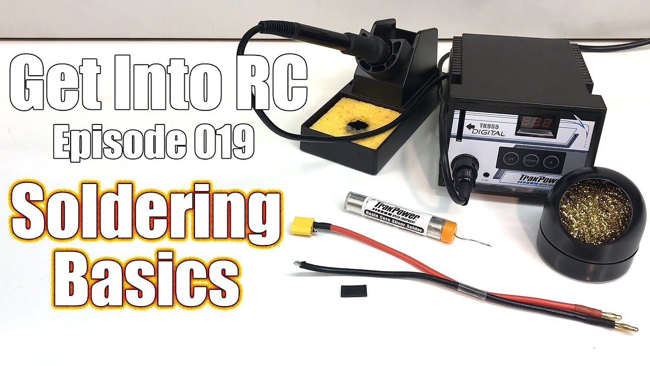 RC Soldering Basics - What You Need + How To Solder Wires ...