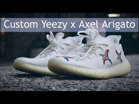CUSTOM YEEZY   Axel Arigato Clean 90s