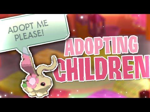 ADOPTING CHILDREN IN ANIMAL JAM!