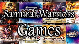 All Samurai Warriors Games For PLAYSTATION [2004-2014]