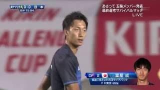 U-23日本代表vsU-23南アフリカ代表ダイジェスト