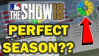 CAN AN ALL 99 OVERALL TEAM BE PERFECT IN MLB 18?