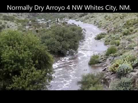 Flash Flooding In Eddy County New Mexico 9 12 2014
