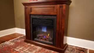 Chimneyfree Roswell Spectrafire Infrared Fireplace Mantel Package | 23fdm1864-m325